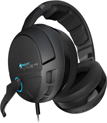 ► Roccat Kave XTD Digital Premium 5.1 Surround Gaming Headset mit Soundkarte