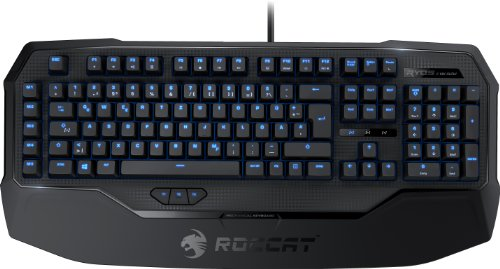 ► Roccat Ryos MK Glow Mechanische Gaming Tastatur (MX Black Key Switch)