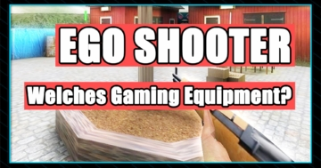 Egoshooter Gaming Peripherie - Welches Gaming Equipment ist wichtig bei Shooter Games.